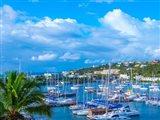 Oyster Pond Bay, St. Maarten Art Print