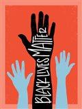 Black Lives Matter - Hands Art Print