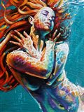 Floating in Color Art Print