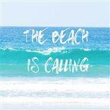 Beach Is Calling Art Print