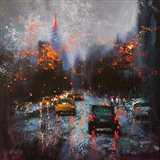 New York on a Stormy Day Art Print