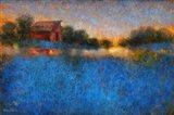 Glowing Horizon Art Print