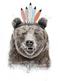 Festival Bear Art Print