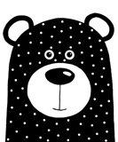 Bean Bear Art Print