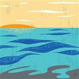 Calm Surf Art Print