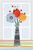 Flowers in Colour Art Print