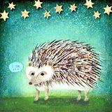 Porcupine for Thomas Art Print
