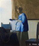 Woman Reading a Letter Art Print