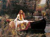 The Lady of Shalott, 1888 Art Print