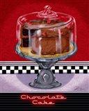 Chocolate Cake Art Print
