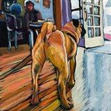 A Pug's View Art Print