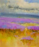 Field of Lavenders 1 Art Print
