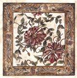 Zinnia Tapestry Art Print