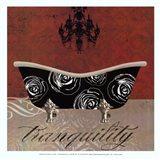Baroque Bath I - mini Art Print