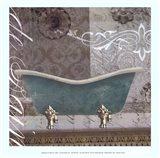 Medallion Bath I - mini Art Print