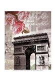 Paris in Bloom II - Mini Art Print