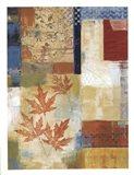 Waltzing Leaves Art Print