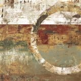 Peeling Paint II Art Print