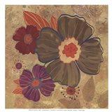 FALL FLOWERS II - MINI Art Print