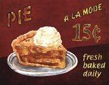 Pie A La Mode Art Print