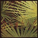 Three Palms, Panel A Art Print