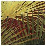 Three Palms, Panel B Art Print