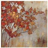 Golden Foliage Art Print