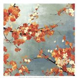Orange Blossoms II - mini Art Print