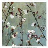 Wind blossoms II -Mini Art Print