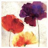 Lush Floral II  (watercolour florals) Art Print