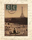 Paris En Flanant Art Print