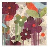 Graffiti Flower II - mini Art Print