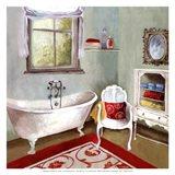 Tranquil Bath I - mini Art Print