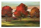 Trees in Motion Art Print
