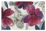 Cartagena Floral Art Print