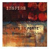 Inspire - mini Art Print