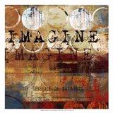 Imagine - mini Art Print