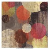 Magenta Bubbles II Art Print