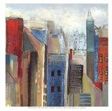 Sunlight City II - mini Art Print