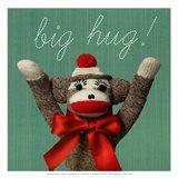 Big hug - mini Art Print