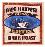 Gold Star Coffee I Art Print