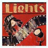 Lights - mini Art Print