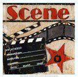 Scene - mini Art Print