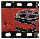 Movie clips - mini Art Print