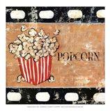 Popcorn and Treats - mini Art Print