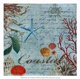 Coastal - mini Art Print