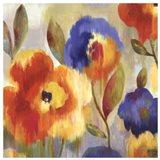 Ikat Florals - Oversize Art Print
