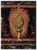Baroque Noir Art Print