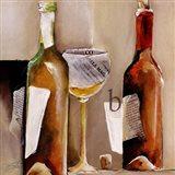Vino Bianco B Art Print