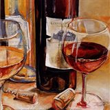 Red Wine for Two Art Print